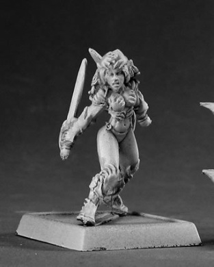 Nasithe Darkspawn Warlord Minature Figures by Reaper Miniatures Miniatures