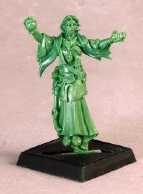 Mystic Theurge by Reaper Miniatures Multi-Coloured