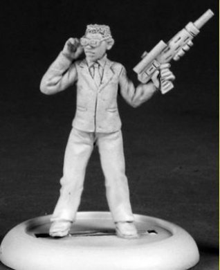 Government Agent Smith Chronoscope Series Miniatures