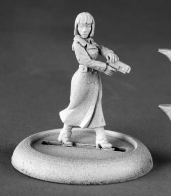 Astrid Berger Female Spy Chronoscope Miniature