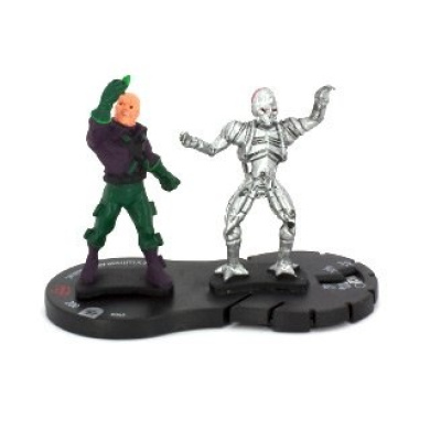 HeroClix: Lex Luthor and Brainiac # 40 (Veteran) - The Brave and The Bold