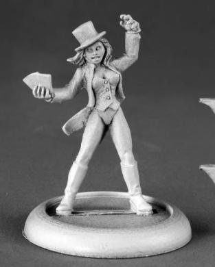 Yvette Magicians Assistant Chronoscope Miniatures