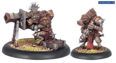 Hordes: Minion Farrow Razorback Crew (2 figures)