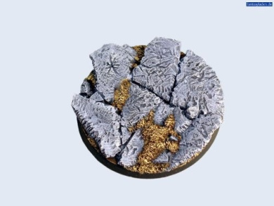 Battle Bases: Ruins Bases, Round 60mm #2 (1)