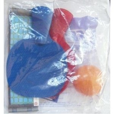 2006 Burger King Kids Club Meal Toy Skill Sports # Table Pong - Miniature Ping Pong Game