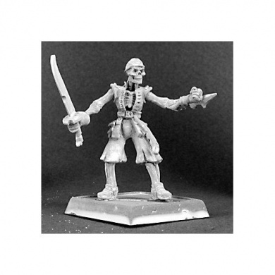 Warlord Grim Pete Undead Pirate RPR 14273
