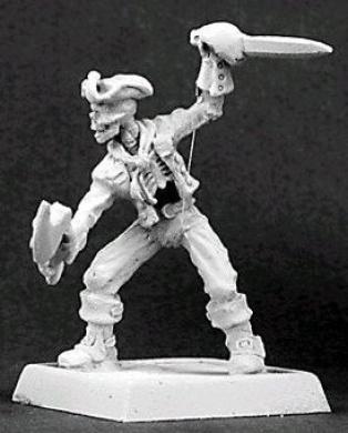 Warlord Jackie Bones Undead Pirate Hero RPR 14275