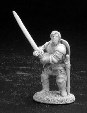Harald, Fighter with Two Handed Sword (OOP)