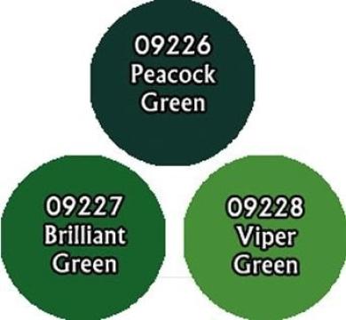 Brilliant Greens Triad