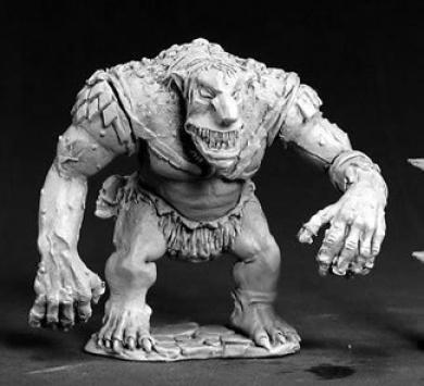 RPR03382 Cave Troll Dark Heaven Legends Minature Figures by Reaper Miniatures