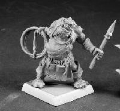 Hrodash Orcish Painmaster Warlord Series