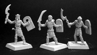 Nefsokar Tomb Guards (3) (Discontinued)