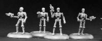 Cyber-Reavers (4) Chronoscope Miniatures by Reaper Miniatures