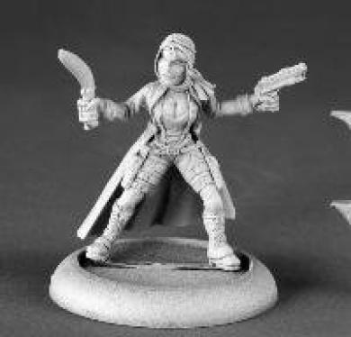 Mira, Post Apocalyptic Heroine
