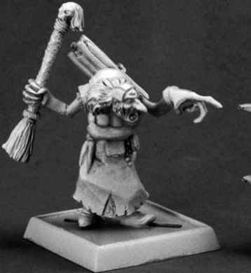 Baba Yaga Pathfinder Miniature