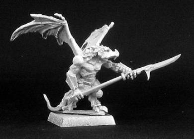 Reptus: Gaan-Hor, Clan Warrior, Reptus Adept