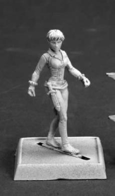 Trinia Sabor Pathfinder Miniature