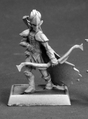 Kiramor the Forest Shadow Pathfinder Miniature