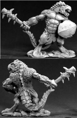Lizardman Tyrant Barbarian