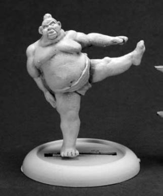 Kawa, Sumo Wrestler Chronoscope Miniature