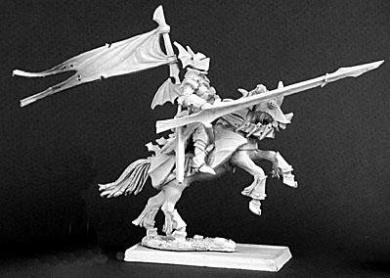 Reaper Warlord: Lord Vandrian, Mounted