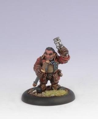 Iron Kingdoms Miniatures: Maulgrun Boldridge, Rhulic Pistoleer