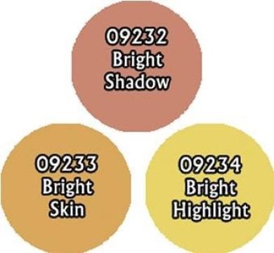 Bright Skintones Triad