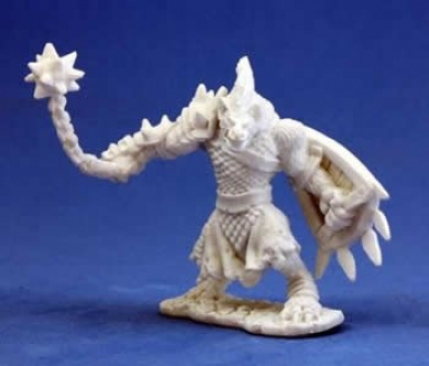 Gnoll Warrior - Dark Heaven Bones Miniature