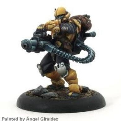 Mercs Minis: Yellow Jackets - Heavy Assault (1)