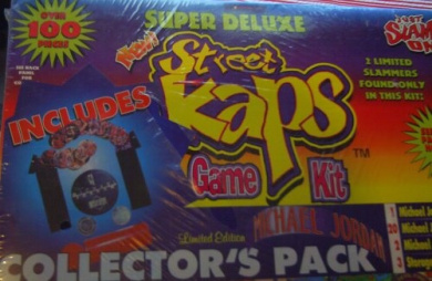 Street Kaps Super Deluxe Game Kit Over 100 Pieces