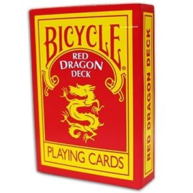 Red Dragon Deck - Bicycle Cards