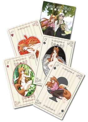 Spice & Wolf Playing Cards