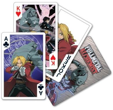 Fullmetal Alchemist Playing Cards