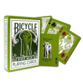 Green Bicycle Elephant Tsunami Playing Cards Rider Back Poker Size Regular Index
