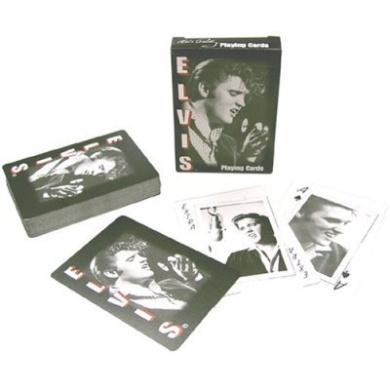 Elvis Presley Playing Cards By Bicycle - Design #1 Kin Rock'n Roll