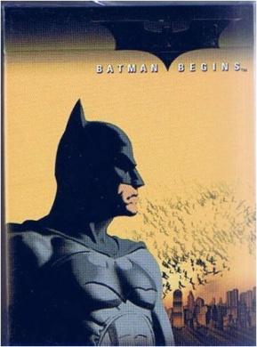 Batman Begins Playing Cards
