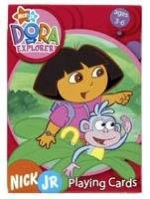 Dora the Explorer Fern Playing Cards