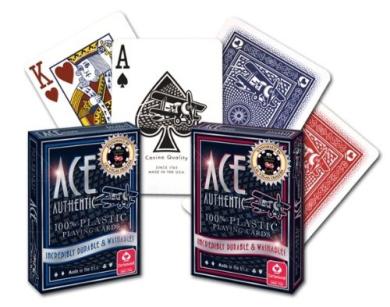 Cartamundi Ace 100% Plastic Casino Cards