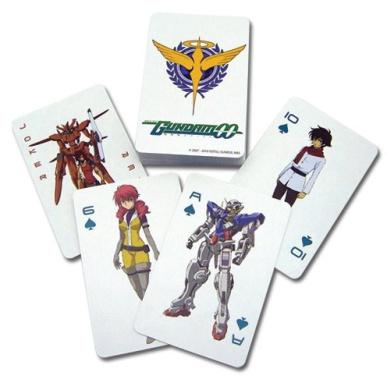 Gundam 00: Playing Cards