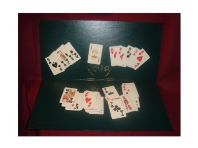 Kling Magnetic Playing Cards with magnetic board