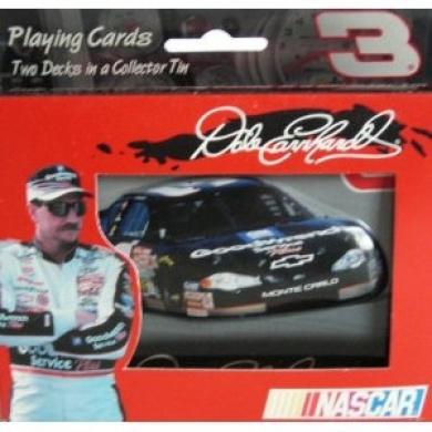 Dale Earnhardt Nascar 2-decks Playing Cards