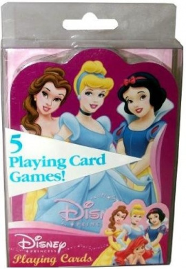 Disney Princess Shaped Playing Cards