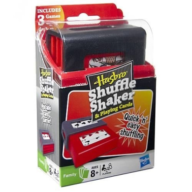 Hasbro Shuffle Shaker and Playing Cards
