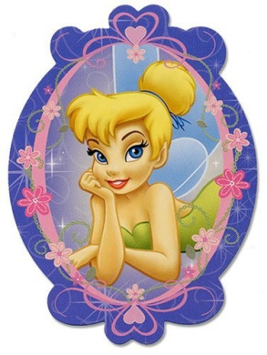 Disney's Tinkerbell Shaped Playing Cards