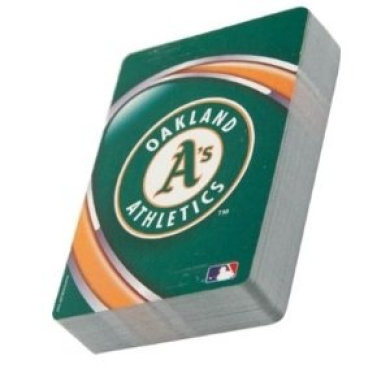Oakland Athletics A's Poker Sized Playing Cards