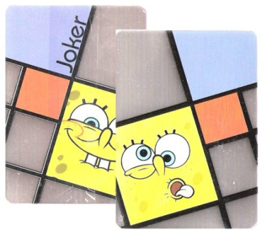 Spongebob Clear Playing Cards Poker
