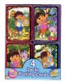 Dora the Explorer Mini Playing Cards 4 Decks