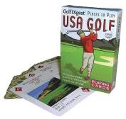 USA Golf Playing Cards