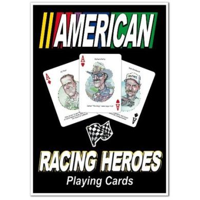 Hero Decks - American Auto Racing - Playing Cards