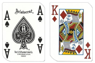 1 Deck Hooters Casino Playing Cards Used In Real Casino - Free Bounty Button Kit